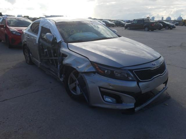 Salvage cars for sale from Copart New Orleans, LA: 2015 KIA Optima LX