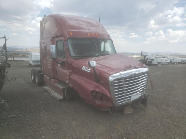 Salvage cars for sale from Copart Reno, NV: 2009 Freightliner Cascadia 1