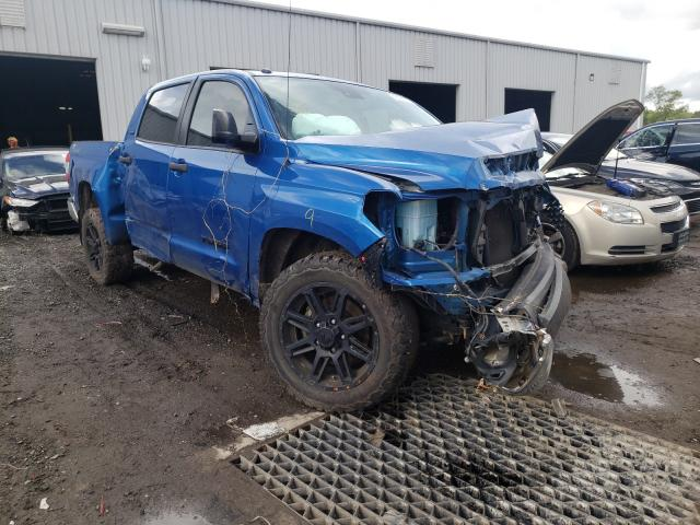 Salvage cars for sale from Copart Jacksonville, FL: 2018 Toyota Tundra CRE
