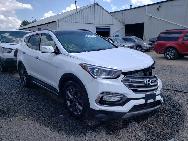Salvage cars for sale from Copart Hillsborough, NJ: 2017 Hyundai Santa FE S