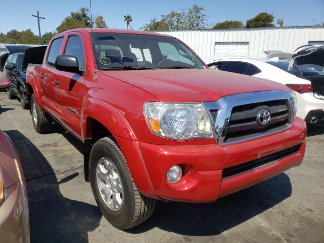 Salvage cars for sale from Copart Vallejo, CA: 2009 Toyota Tacoma DOU
