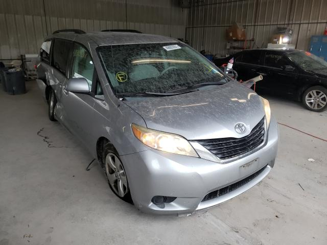 Salvage cars for sale from Copart York Haven, PA: 2011 Toyota Sienna LE