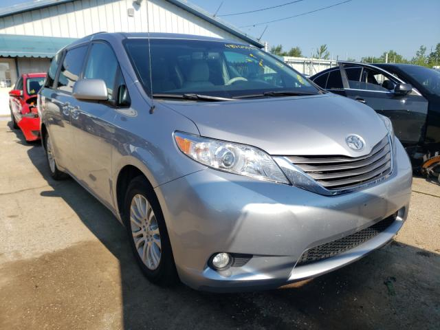 Salvage cars for sale from Copart Pekin, IL: 2011 Toyota Sienna