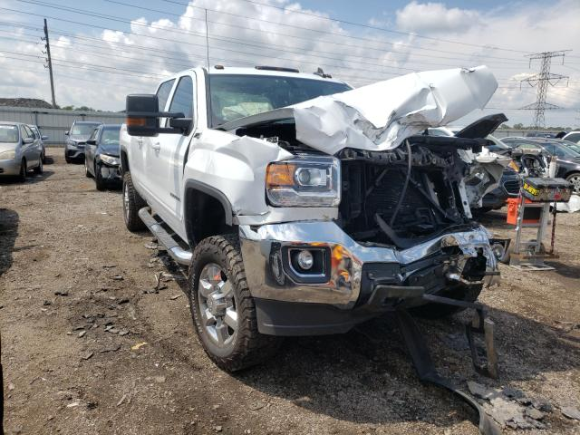 Salvage cars for sale from Copart Elgin, IL: 2016 GMC Sierra K25