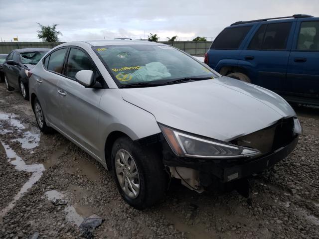Vehiculos salvage en venta de Copart Kansas City, KS: 2019 Hyundai Elantra SE