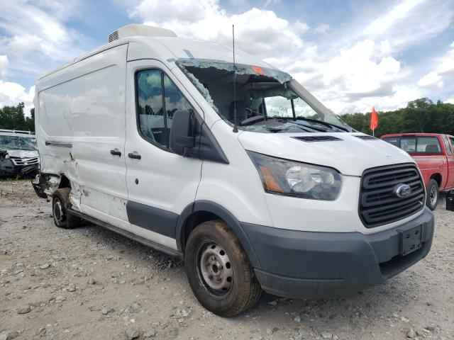 Salvage cars for sale from Copart Spartanburg, SC: 2016 Ford Transit T