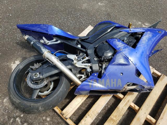 Salvage motorcycles for sale at Montreal Est, QC auction: 2002 Yamaha YZFR1