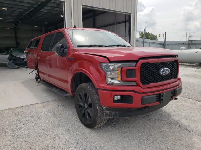 Salvage 2020 FORD F-150 - Small image. Lot 46899911