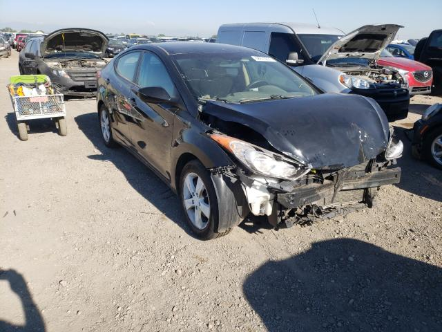Salvage cars for sale from Copart Brighton, CO: 2011 Hyundai Elantra GL