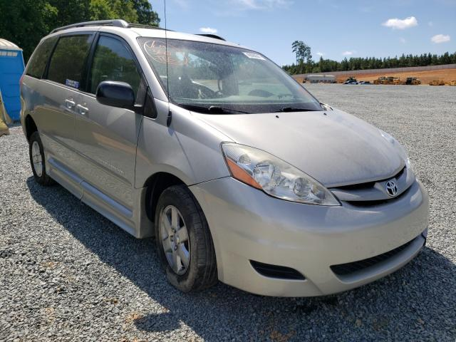 Salvage cars for sale from Copart Concord, NC: 2008 Toyota Sienna CE