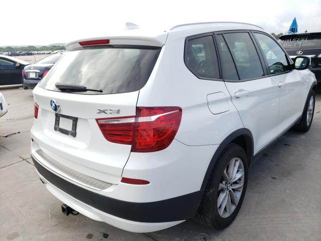 2014 BMW X3 XDRIVE2 5UXWX9C54E0D29598