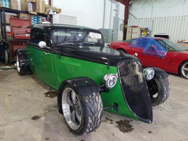 Carros salvage clásicos a la venta en subasta: 1932 Ford Rdstr