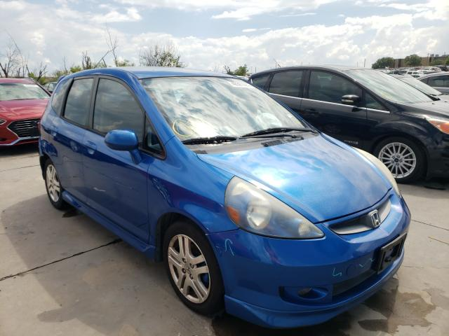 Honda salvage cars for sale: 2007 Honda FIT S