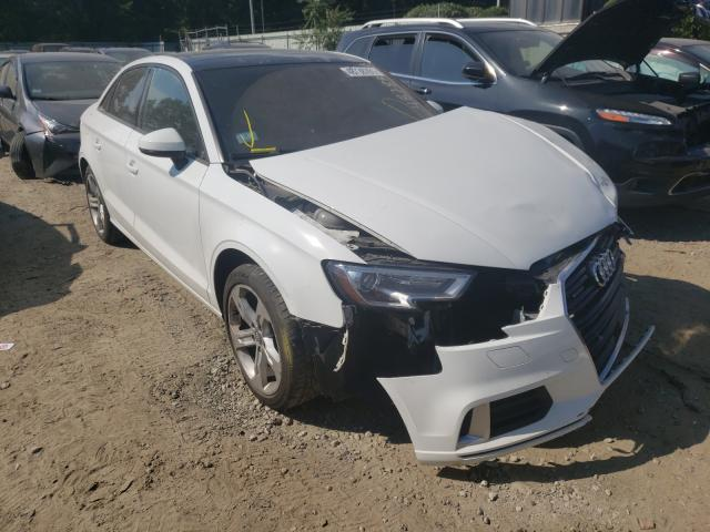 Salvage cars for sale from Copart Billerica, MA: 2017 Audi A3 Premium