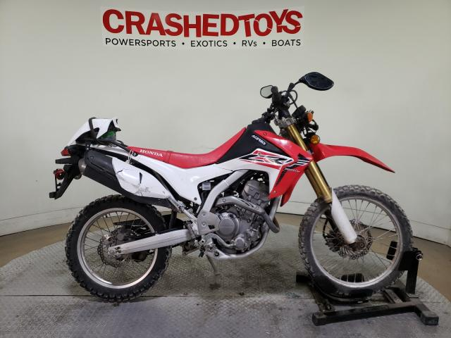 Salvage cars for sale from Copart Dallas, TX: 2015 Honda CRF250 L