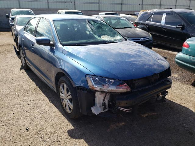 Salvage cars for sale from Copart Albuquerque, NM: 2017 Volkswagen Jetta S