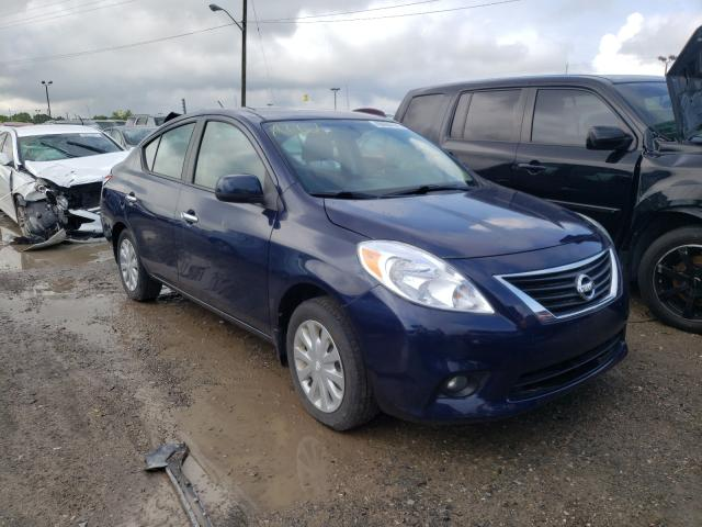 Salvage cars for sale at Indianapolis, IN auction: 2015 Nissan Versa