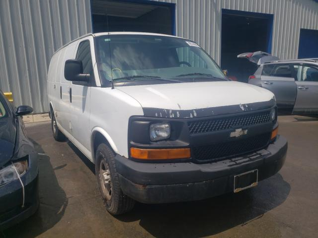 Salvage cars for sale from Copart Glassboro, NJ: 2004 Chevrolet Express G1