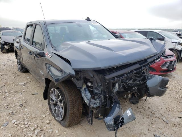Salvage cars for sale from Copart New Braunfels, TX: 2021 Chevrolet Silverado