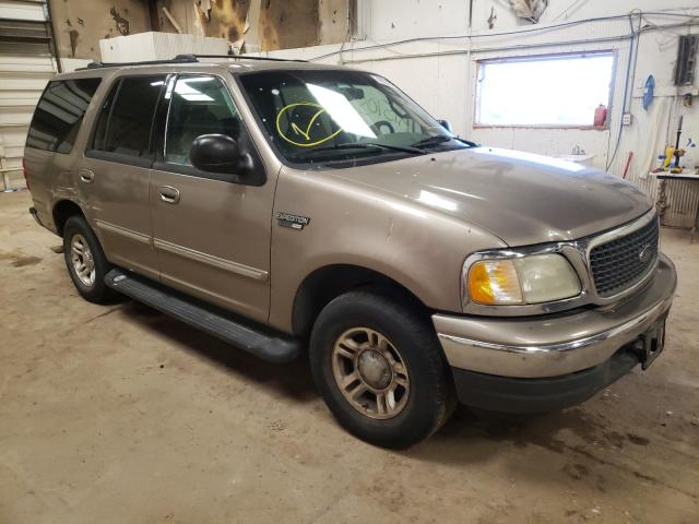 Salvage cars for sale from Copart Casper, WY: 2002 Ford Expedition