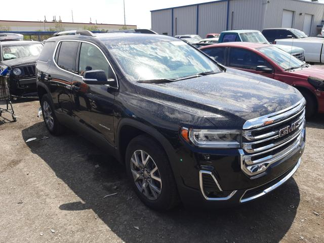 Salvage cars for sale from Copart Las Vegas, NV: 2021 GMC Acadia SLT