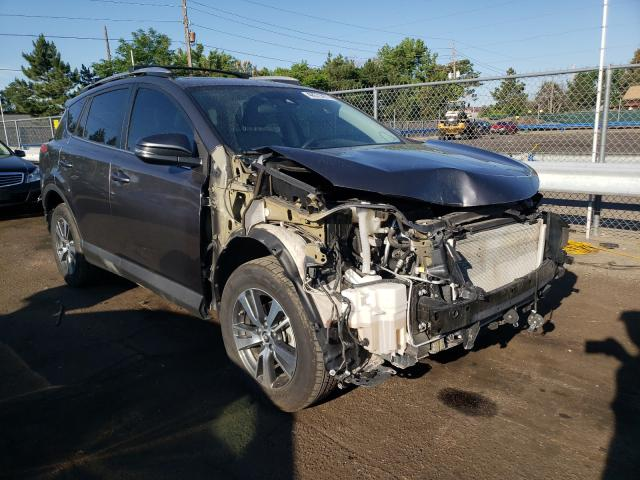 Salvage cars for sale from Copart Denver, CO: 2017 Toyota Rav4 XLE