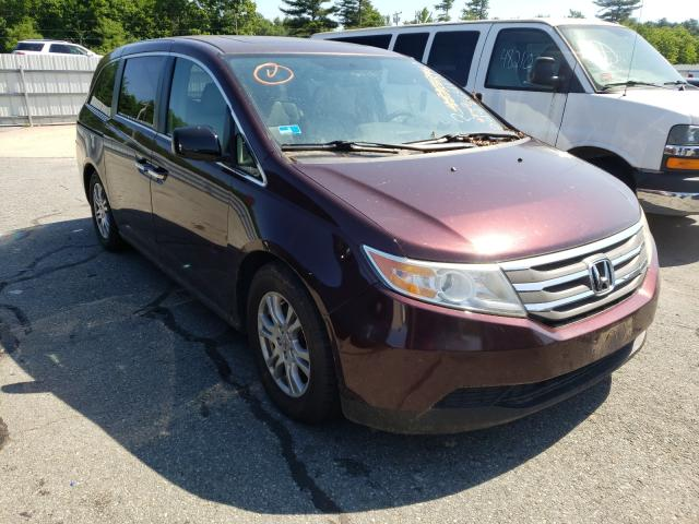 Salvage cars for sale from Copart Exeter, RI: 2011 Honda Odyssey EX