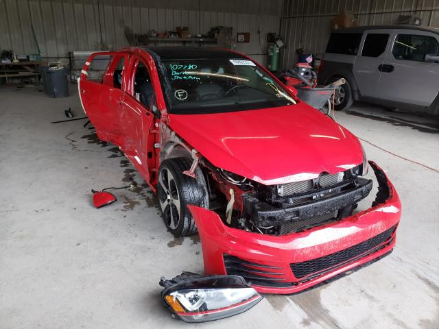 Salvage cars for sale from Copart York Haven, PA: 2017 Volkswagen GTI Sport