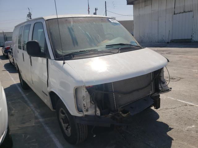 Salvage cars for sale from Copart Sun Valley, CA: 2000 Chevrolet Express G2