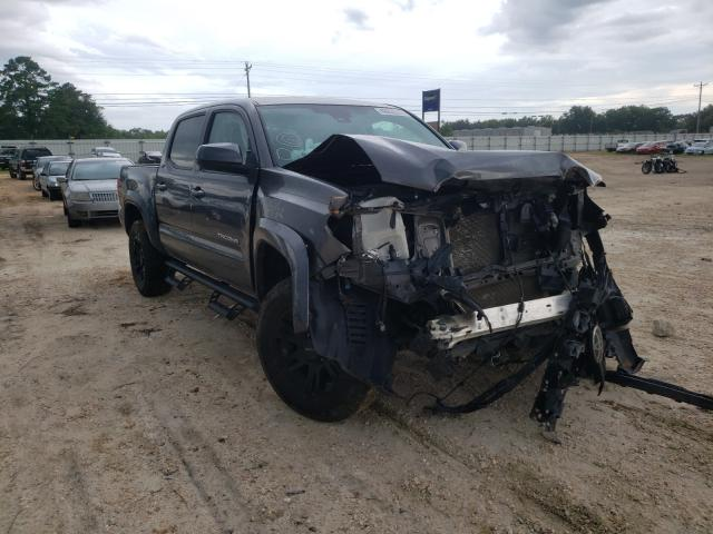 Salvage cars for sale from Copart Newton, AL: 2018 Toyota Tacoma DOU