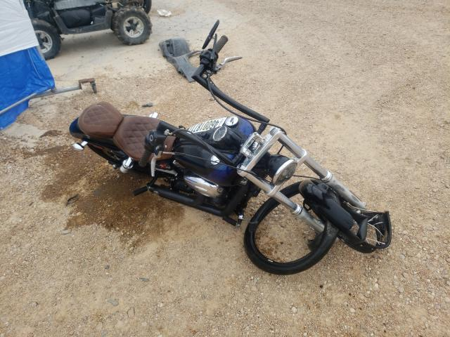 Salvage cars for sale from Copart Bridgeton, MO: 2012 Harley-Davidson Fxdwg Dyna