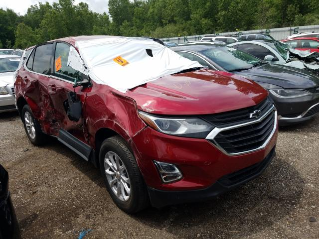 Salvage cars for sale from Copart Portland, MI: 2019 Chevrolet Equinox LT