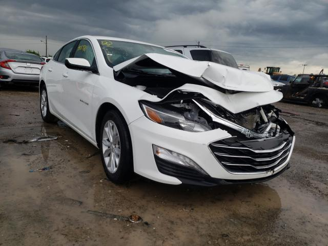 Salvage cars for sale at Indianapolis, IN auction: 2020 Chevrolet Malibu LT