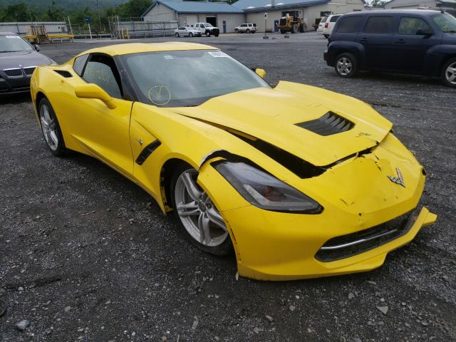 Salvage cars for sale from Copart Grantville, PA: 2016 Chevrolet Corvette S