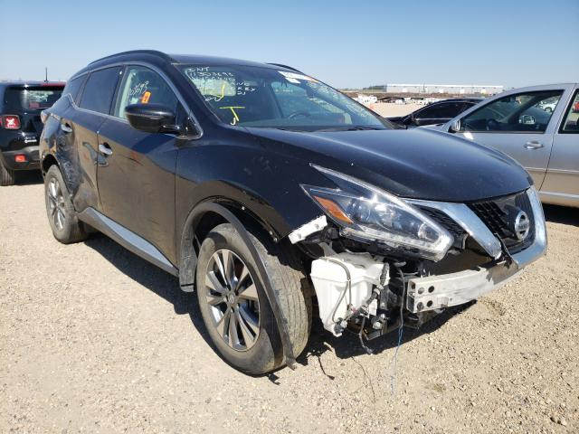 Salvage cars for sale from Copart Nisku, AB: 2018 Nissan Murano S