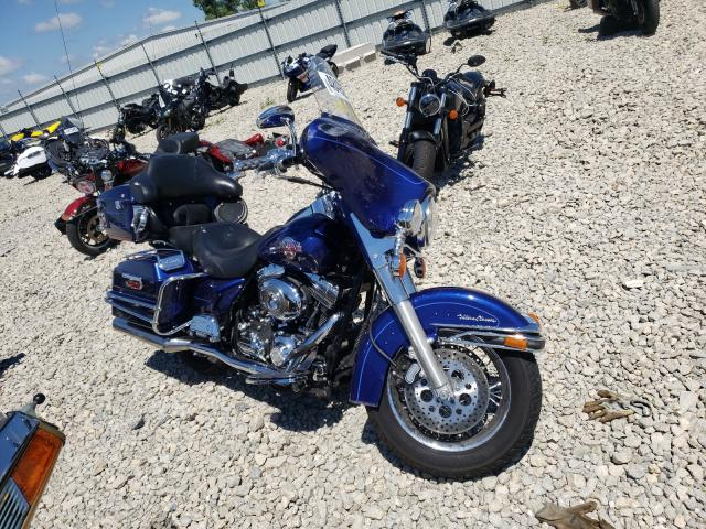 Salvage cars for sale from Copart Appleton, WI: 2007 Harley-Davidson Flhtcui
