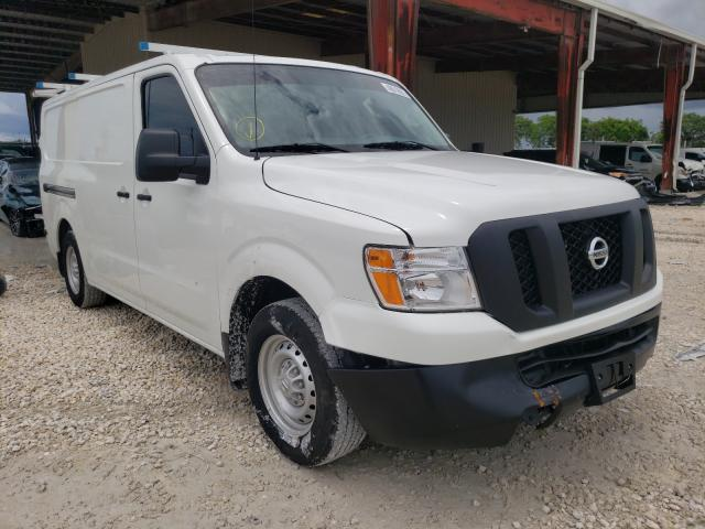 Salvage cars for sale from Copart Homestead, FL: 2021 Nissan NV 1500 S