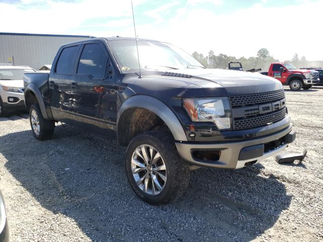 Salvage cars for sale from Copart Spartanburg, SC: 2011 Ford F150 SVT R
