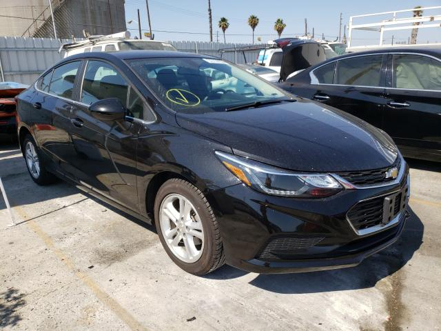 Salvage cars for sale from Copart Wilmington, CA: 2018 Chevrolet Cruze LT