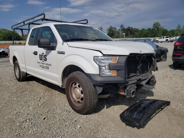 Salvage cars for sale from Copart Spartanburg, SC: 2015 Ford F150 Super