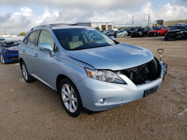 Salvage cars for sale from Copart San Antonio, TX: 2011 Lexus RX 350