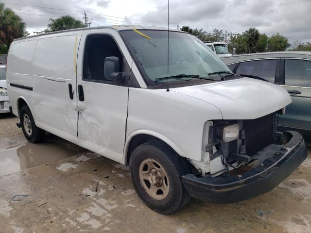 Salvage cars for sale from Copart West Palm Beach, FL: 2003 Chevrolet Express G1