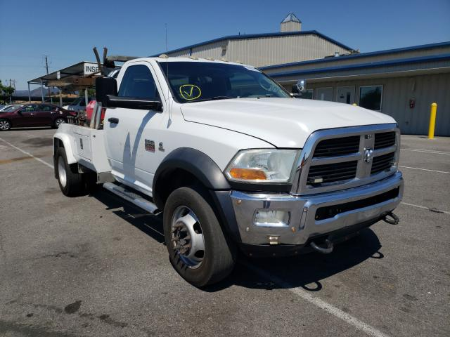 Salvage cars for sale from Copart San Martin, CA: 2011 Dodge RAM 5500 S