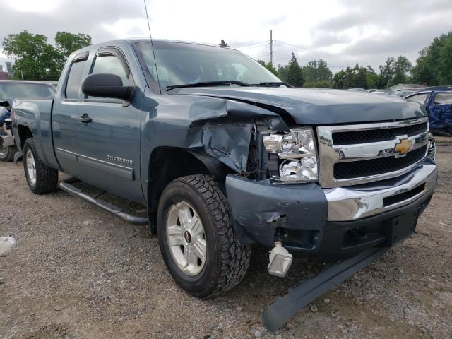 Salvage cars for sale from Copart Lansing, MI: 2010 Chevrolet Silverado