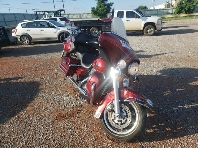 Salvage motorcycles for sale at Oklahoma City, OK auction: 2008 Harley-Davidson Flhtcui