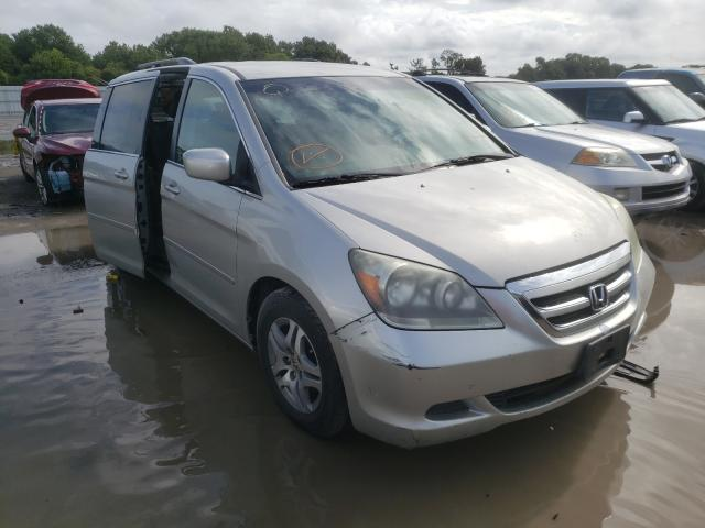 Salvage cars for sale from Copart Riverview, FL: 2005 Honda Odyssey EX