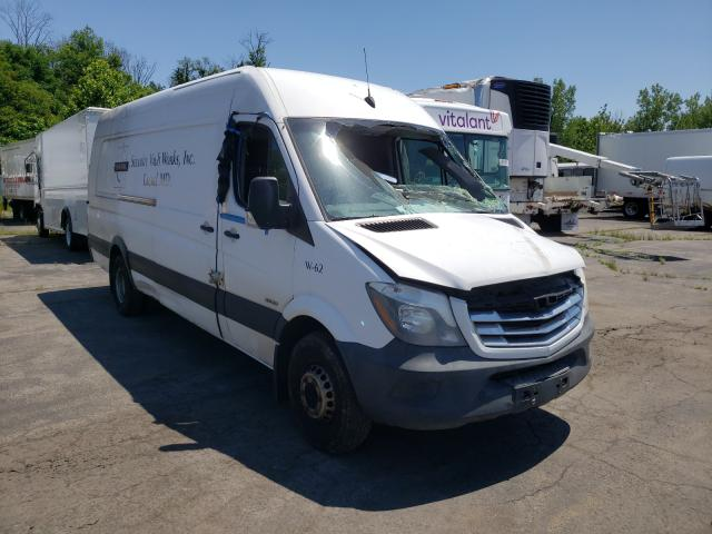 Salvage cars for sale from Copart Marlboro, NY: 2014 Freightliner Sprinter 3