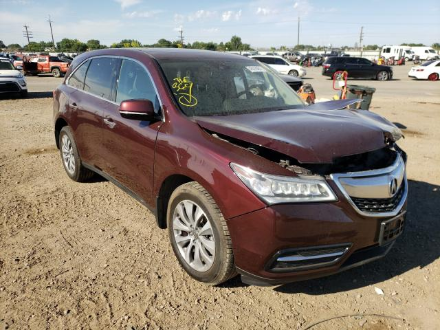 Salvage cars for sale from Copart Nampa, ID: 2014 Acura MDX Techno