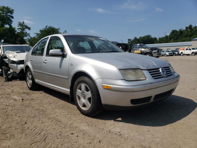 Volkswagen salvage cars for sale: 2001 Volkswagen Jetta GLS