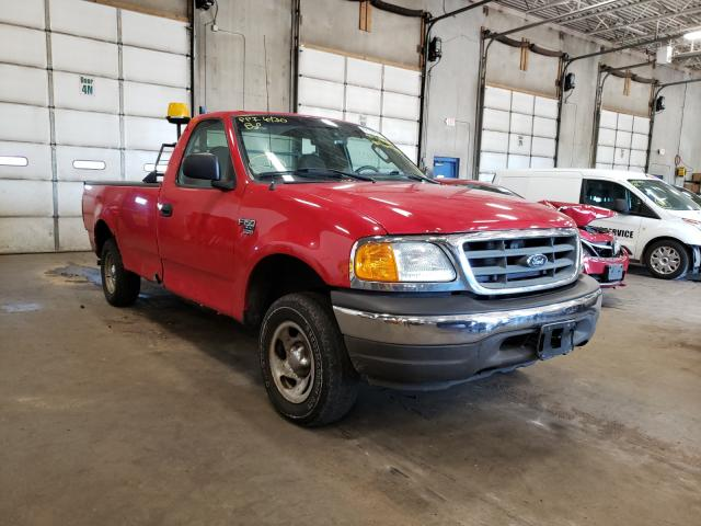 Salvage cars for sale from Copart Blaine, MN: 2004 Ford F-150 Heri